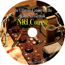 National Radio Institute Couse for Radio Servicing NRI 90 Volumes Manuals on CD
