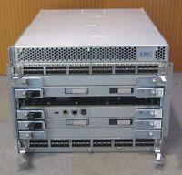 Brocade ED-DCX-4S Backbone SAN Switch 100-652-565 2x FC8-48 1x CP8 2x CR4S8