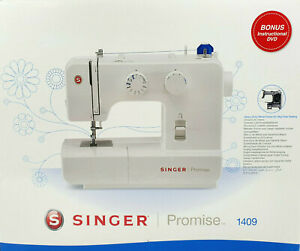 Singer Promise 1409 Sewing Machine White - New Free Shipping