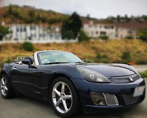 Saturn Sky & Solstice & Opel Convertible top Restrict Wind Air screen window