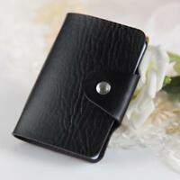 PU Leather Cards Business Name Credit Card Case Book Holder KeeperOrganizer Sell