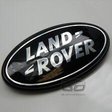 Land Rover Freelander 2 Trasero Back Big sobrealimentados Insignia de Plata Negro Brillante