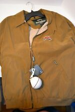 NWT Weatherproof Men's BDI Classic Golf Brown Zip Front Jacket Size XXL