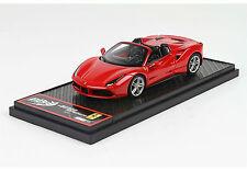 Ferrari 488 Spider 2015 Met. Red  lim.ed.99 pcs 1/43 BBRC173C  BBRMODELS