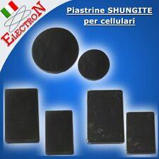 PIASTRA adesiva SHUNGITE per CELLULARE  TELEFONO (protezione WI-FI / 5G / EMF )