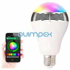 G24 Smart LED Lampe E27 Lautsprech Wireless Bluetooth Sprechanlage Color