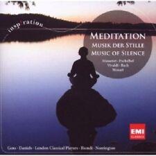 MEDITATION-MUSIK DER STILLE - BIONDI, NORRINGTON, DANIELS, GENS UVM CD NEU