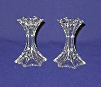 Perfect Pair of Mikasa Firestar Candlestick Candle Holders-Mint Condition