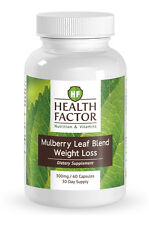 HF Health Factor Mulberry Leaf Extract Blend, Powerful Weight Loss (1 Bottle)