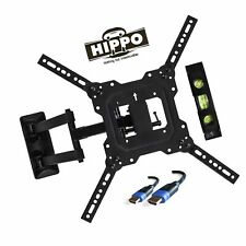 "HIPPO TV Wall Mount Bracket With Full Motion Swing Out Tilt for Most 23""-55"