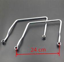 24cm Saddle bag Support Bars Bar Mount Bracket For Kawasaki Vulcan VN 900 VN900