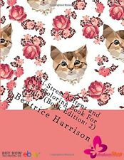 Kittens & Cats Coloring Books For Adults Anti-Stress Relax Pages Painting Edit 2
