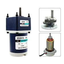 2D15GN-C DC12V/24V 15W Micro DC Gear Motor Adjustable Speed CW/CCW with Gearbox