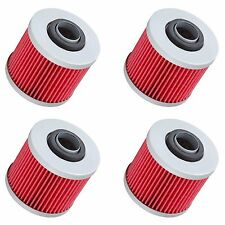 4 Oil Filter Filters for Yamaha V-Star Drag Star Virago Motorcycles See List