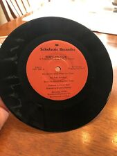 "Rumpelstiltskin 7"" 33-1/3 RPM 1973 Scholastic Picture Sleeve CC 1687"