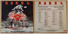 "LP  MAXI SINGLE VINILO 12"" SPANISH HEAVY METAL BABEL ESCLAVO DEL SILENCIO - 1984"