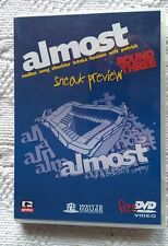 ALMOST : ROUND THREE-SNEAK PREVIEW (DVD) R-ALL(NTSC) NEW, FREE POST IN AUSTRALIA