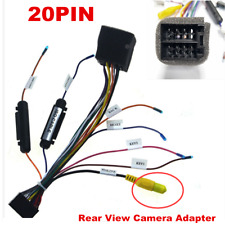 For Car ISO Wiring Harness Stereo Radio Plug Lead Wire Loom Connector Adaptor