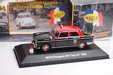 NOSTALGIE PEUGEOT 404 TAXI G7 1962 1/43