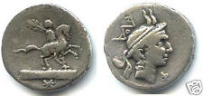 REPUBLIQUE ROMAINE L. MARCIUS PHILIPPUS (113/112 Av. J.C) DENIER RARE !!!