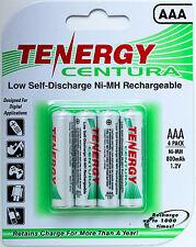Tenergy 10406 LSD AAA Centura Batteries - 4 Cells-Ships from Canada