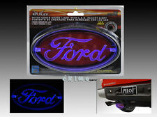 "FORD 1.25"" & 2"" TRAILER HITCH RECEIVER COVER LED BRAKE LIGHT F150 F250 F350 F450"