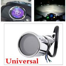 niversal Motorcycle Speedometer Metal LCD Digital Tachometer Odometer ATV Meter