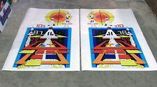 Atari Missle Command Arcade Machine (Not Inkjet) Uv Cured Inks Side Art