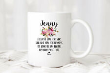 Gift For Granddaughter Personalized Mugs Custom Coffee Mug With Customizable