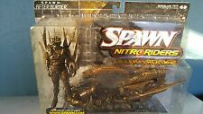 SPAWN NITRO RIDERS AFTERBURN GOLD WASHED PAINT, NEVER OPENED
