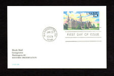 SCOTT # UX 128 Healy Hall FDC United States Postal Stationery MINT Card