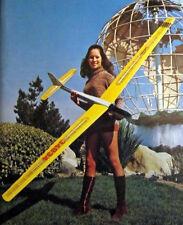 "Vintage WINDFREE 99"" RC Sailplane Model Airplane PLAN + RCM & Power Pod Articles"
