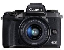 Canon EOS M5 Digital Camera EF-M15-45mm F3.5-6.3 Lens Kit *Free Shipping*
