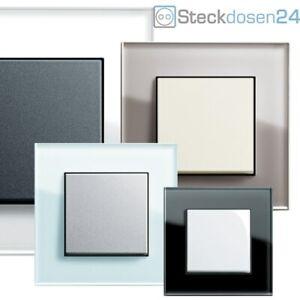 GIRA Steckdose System 55 ESPRIT GLAS Rahmen Steckdosen Schalter