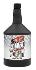 REDLINE Motoröl Motorrad 20W50 Motorcycle Oil Motorradöl Hochleistung 0,95 Liter