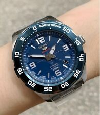 SRPB85J1 Made in Japan Automatic Blue Dial Silver Steel Watch for Men