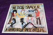 "The Dogs Damour - A Graveyard of Empty Bottles. Rare 10"" vinyl"