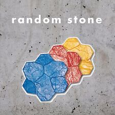 Original Random Stone 5 piece Concrete Stamp Set
