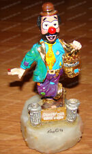 Ron Lee World of Clowns, Dumpster's Cigar Store (Sm301) 1991 Limited Edition