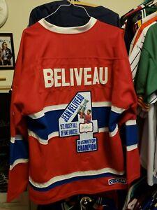 Jean Beliveau Signed Jersey