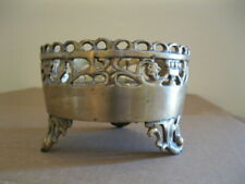 Candle holders bronze Pillar Plate tray