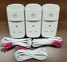 More details for 3 x bt mini connectors v2 version 2 1000mb 1gb powerline adapters + ethernet!