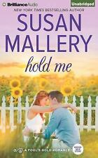 HOLD ME unabridged audio book on CD by SUSAN MALLERY