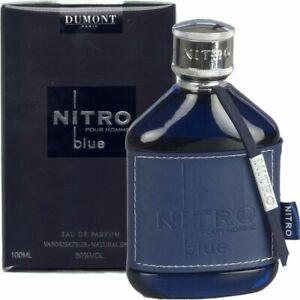 Dumont Nitro Pour Homme Blue Eau De Perfume 100ml gift men