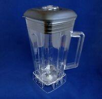 Complete 64oz Jar Set with Blade,Lid,Center Fill & Nut, Fits Vitamix Blenders