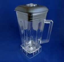 Complete 64oz Jar with Blade,Lid,Center Fill & Nut, Compatible Vitamix Blenders