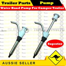 Superior Water Hand Pump For Caravan Camper Trailers - Trailer Parts - WHITE