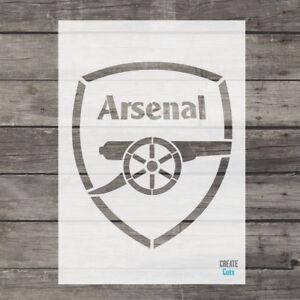 Arsenal STENCIL London Football Team Airbrush Decor Reusable Template