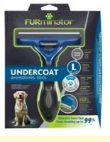 GENUINE FURminator Undercoat Tool: LARGE Dog LONG Hair / FURminator Shampoo