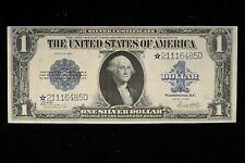 "1923 $1 Large Silver Certificate FR 238 STAR ALMOST EXTRA FINE  ""RARE STAR NOTE"""